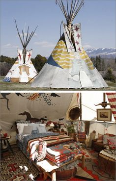 I could live in this teepee ツ