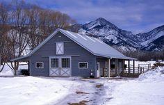 Morton Buildings horse barn