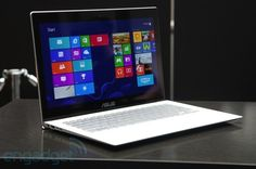 ASUS' Zenbook UX301, an Ultrabook with a Gorilla Glass lid and 2,560 x 1,440 touchscreen