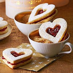 Lingonberry Hearts