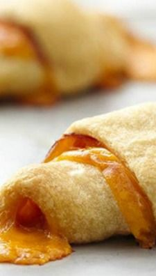 ham and cheese crescent roll-ups - Want to prepare it yourself? click ...