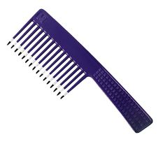 I don't brush... I comb, with this baby