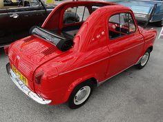 Cool old Vespa 400