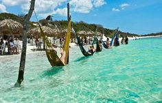 Jericoacoara Beach Brazil -  http://travelrew.com/jericoacoara-beach-brazil/  Places I've gone or would like to Visit! http://www.travelrew.com