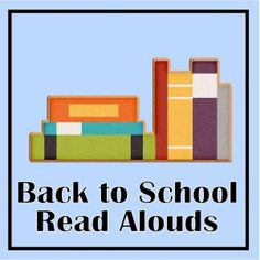 Great, complete list of back to school read alouds for the classroom!  Teachers - this will be a big time saver!