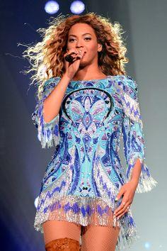 Beyonce's Best Tour Costumes - Elle