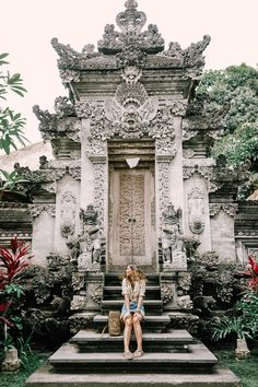 Balinese temple.