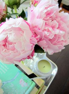 Peonies - having these anywhere in my house would add a constant, pleasant, dreamy feel to life... Sigh