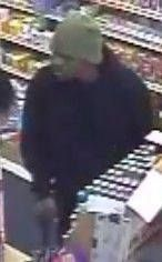 The Joliet Police Department is looking for assitance in identifying the pictured individual. He is a suspect in two armed robberies in the last two days.  If you have any information on the subjects identity, please contact the Joliet Police Investigation Divison at 815-724-3020 or call Will County Crimestoppers at 800-323-6734. Thanks for your help.