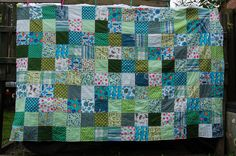 WIP wednesday - Little Brother's patchwork quilt {update} #AudreyB. #StudioPaars