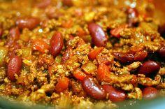 red bean chili via Smitten Kitchen