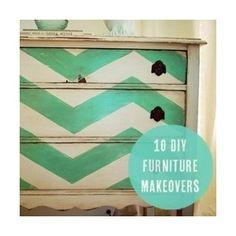 10 DIY Furniture Makeovers craftgawker - Polyvore