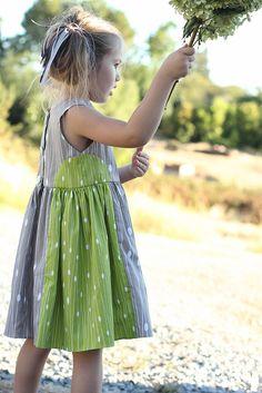 cute color block dress
