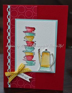 Stampin Up Morning Cup_