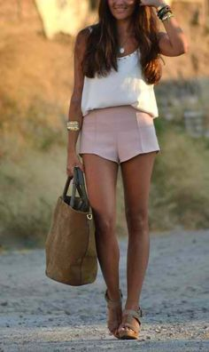 Blush ; ivory.pink skirt cute #alice257891 #pinkskirt#pink #skirt #newfashion# www.2dayslook.com