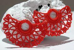 Pendientes de ganchillo - Crochet earrings