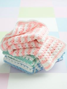 Crochet Stripes Blanket: free pattern