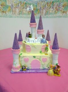 Princess Sofia the First Cake. Personalize for your special guest of honor!