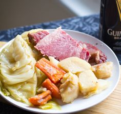 Click Pic for  50 St Patricks Day Food Ideas - Corned Beef and Cabbage (Crock Pot)