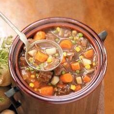 Busy Day Beef Stew - slow cooker good for when it's cold outside