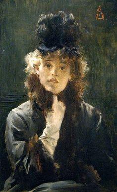 Alfred Stevens. 19th Century. France. Belle Epoque