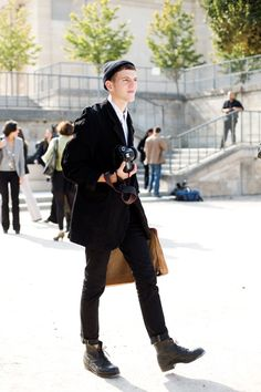 On the Street…..High Impact Accessory, Paris « The Sartorialist