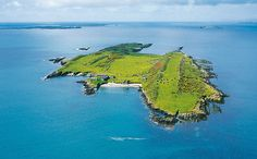 A beautiful island off the coast of Ireland