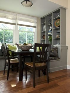 Spaces Banquette Seating Design, Pictures, Remodel, Decor and Ideas - page 12