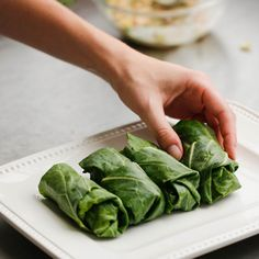 Collard Green Wraps
