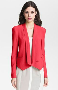Rebecca Minkoff 'Becky' Silk Jacket | Nordstrom