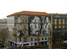 New Multi story Mural by RONE in Berlin.