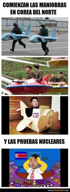 Comienzan las maniobras militares en Corea del Norte
