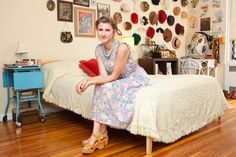 Tour Fashion Blogger Emily Theobald's Bedroom
