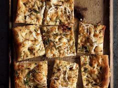 Onion-Herb Focaccia Appetizer #EasiestHolidayEver