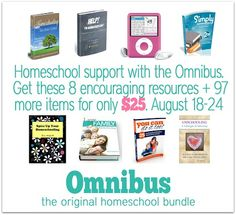 Using iBooks to organize Homeschool Omnibus ebooks -  a Hodgepodge of Help and Encouragement for You!