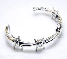 Barbed Wire Bracelet