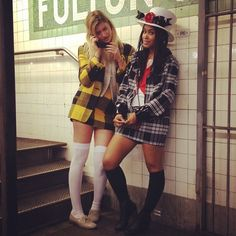 Clueless costumes! This is like, totally fabulous!