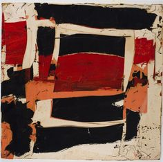Larry Zox, For Jean Orange Red, 1961, Harvard Art Museums/Fogg Museum.
