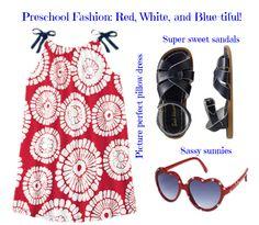 Memorial Day fashion for your preschooler
