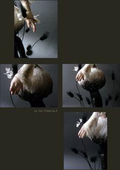 Feltoohlala blog - such an inspiration. Amazing needle felted dolls.