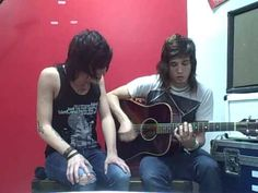 Sleeping With Sirens If Im James Dean You're Audrey Hepburn acoustic Video ~  True Talent.