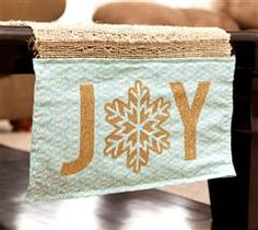 Accent your table with this fun table runner!
