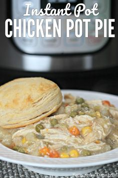 You are going to love this easy Instant Pot Chicken Pot Pie Recipe. It is the best pot pie recipe and its ready in under an hour!