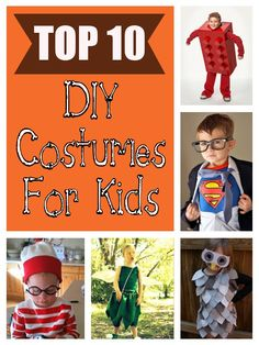 diy home sweet home: Top 10 Halloween Costumes for Kids