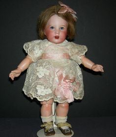 RARE TINY SIZE -10 - SFBJ 251 - Character Toddler - Antique French Doll - Marked Body!!