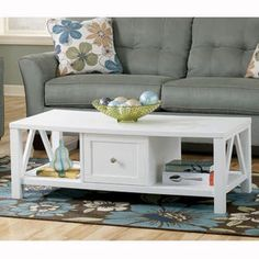 coffee tables, cottag, rectangular cocktail, cocktail tabl, white, live room, furniture, cocktails, coffe tabl