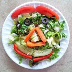 A kid friendly salad that'll make vegetables appealing.