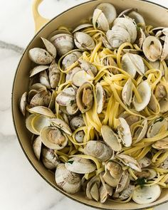 clams linguine w clam grill roasted clam linguine grilled clams with ...