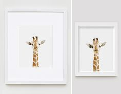 Giraffe Close-up - The Animal Print Shop by Sharon Montrose