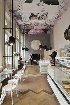 Delicious design: Lolita cafe in Ljubljana, Slovenia